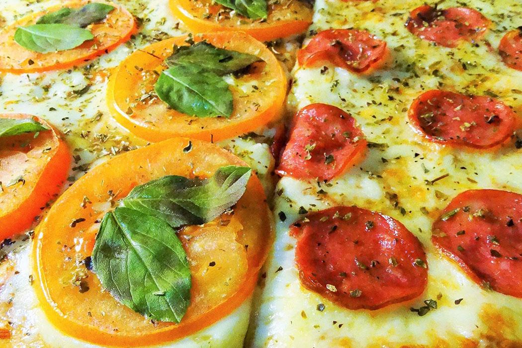 Foto original das Pizzas Pizzaria Porto Pizzas